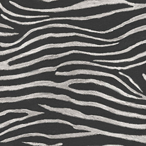 Arthouse Serengeti Nights Black Wallpaper 10.05m x 53cm