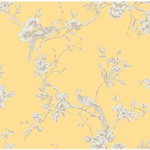 Arthouse Chinoise Yellow Wallpaper 10.05m x 53cm