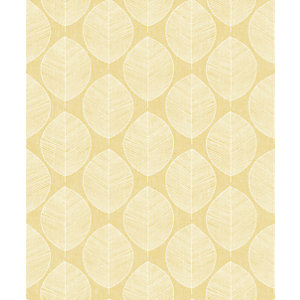 Arthouse Retro Skandi Yellow Wallpaper 10.05m x 53cm