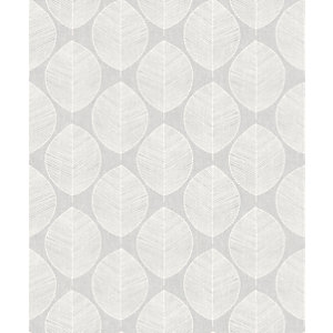 Arthouse Retro Skandi Grey Wallpaper 10.05m x 53cm