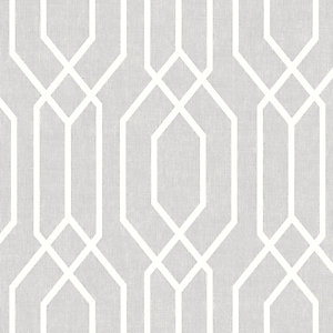 Arthouse New York Geo Light Grey Wallpaper 10.05m x 53cm