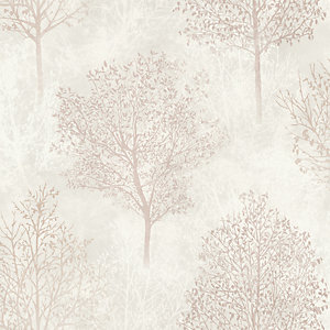 Arthouse Wonderland Natural Wallpaper 10.05m x 53cm