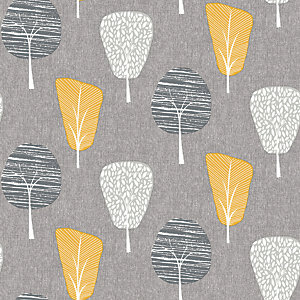 Arthouse Retro Tree Ochre Wallpaper 10.05m x 53cm