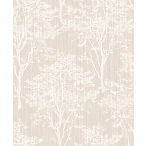 Arthouse Diamond Wood Grey Beige Wallpaper 10.05m x 53cm
