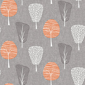Arthouse etro Tree Orange Wallpaper 10.05m x 53cm