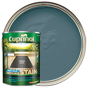 Cuprinol Anti-Slip Decking Stain Urban Slate 5L