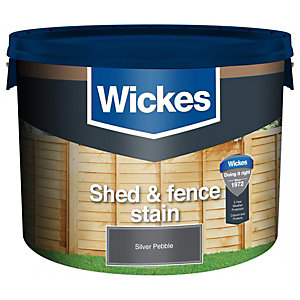 Wickes Shed & Fence Timbercare Silver Pebble 9L