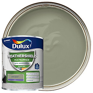 Dulux Weathershield Multi Surface Green Glade Paint 750ml