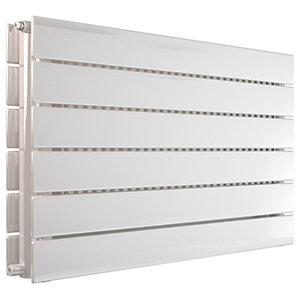 Henrad Verona Double Panel Designer Radiator - White 592 x 900 mm