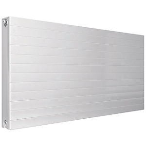 Henrad Everest Single Convector Designer Radiator - White 600 x 600 mm