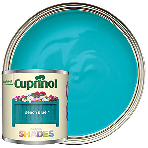 Cuprinol Garden Shades Beach Blue - Matt Wood Treatment Tester 125ml
