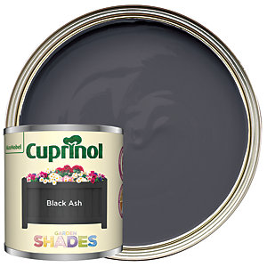 Cuprinol Garden Shades Black Ash - Matt Wood Treatment Tester 125ml