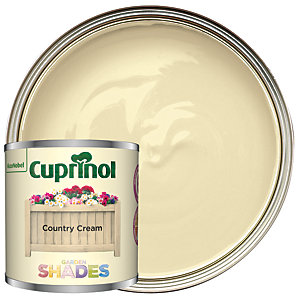 Cuprinol Garden Shades Country Cream - Matt Wood Treatment Tester 125ml