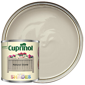 Cuprinol Garden Shades Natural Stone - Matt Wood Treatment Tester 125ml