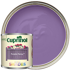 Cuprinol Garden Shades Purple Pansy - Matt Wood Treatment Tester 125ml