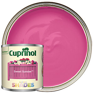 Cuprinol Garden Shades Sweet Sundae - Matt Wood Treatment Tester 125ml