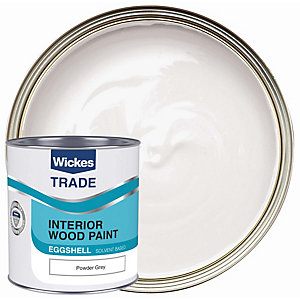 Wickes Trade Eggshell Powder Grey 1L