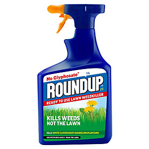 Image of Roundup Lawn Ultra Ready to Use Weed Killer - 1L