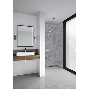 Mermaid Elite Ravello Post Form Single Shower Panel - 2420 x 1200