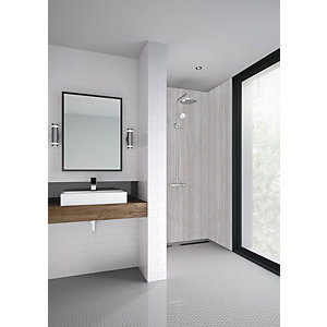 Mermaid Elite Vieste Tongue & Groove Single Shower Panel