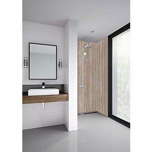 Mermaid Elite Sovana Post Form Single Shower Panel - 2420 x 1200mm