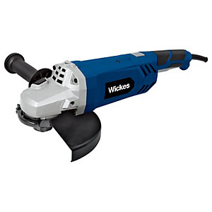 Wickes 230mm Corded Angle Grinder - 2200W