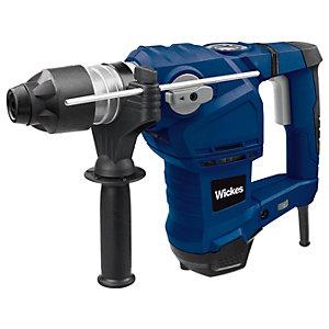 Wickes SDS+ Corded Rotary Hammer Drill - 1500W