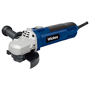 Wickes 115mm Corded Angle Grinder - 900W