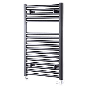 Pisa Anthracite Towel Radiator 800x500mm