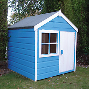 Shire 4 x 4ft Playhut Wooden Playhouse