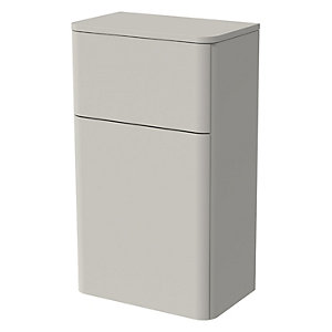 Wickes Malmo Light Grey Freestanding Toilet Unit - 850 x 500mm