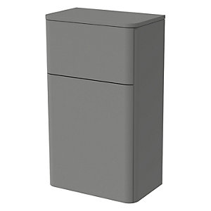 Wickes Malmo Dust Grey Freestanding Toilet Unit - 850 x 500mm