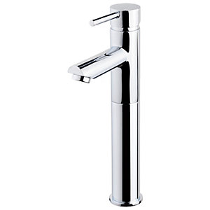 Wickes Mirang Chrome Tall Basin Tap