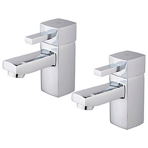 Wickes Yaran Chrome Basin Mono Mixer Tap