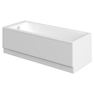Wickes Camisa 14 Jet Double Ended Reinforced Light Whirlpool Bath - 1700 x 750mm