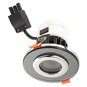 Wickes Round Smoked Glass Downlight