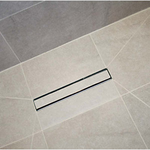 Wickes Linear Tileable Trap Cover - 300mm