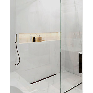 Abacus Recessed Bathroom Storage Unit 1600 x 350 x 180 mm