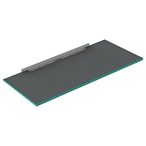 Wickes 30mm Infinity Wall To Wall Single Fall Shower Tray - 1800 X 900mm