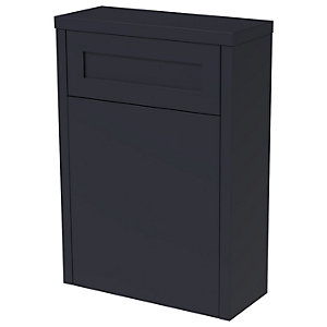 Wickes Hayman Indigo Blue Traditional Freestanding Toilet Unit - 870 x 550mm