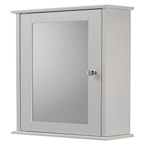 Croydex Wooden Single Bathroom Cabinet