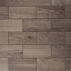 Contour Brown Wood Effect Decorative 10m