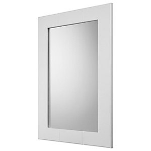 Croydex Portland Bathroom Mirror - 400 x 900mm