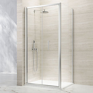 Nexa By Merlyn 8mm Bifold Chrome Framed Shower Door Only - 1000mm