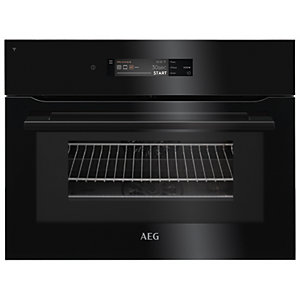 AEG Connected Combi Microwave Oven Black KMK768080B