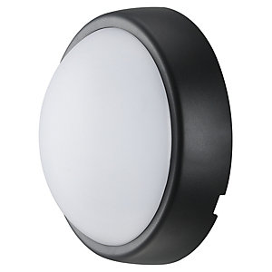 Luceco Eco Mini Round Bulkhead IP54 Supplied Black & White Trim 5.5W