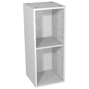 Wickes Hertford Dove Grey Floorstanding Open Storage Unit - 300 x 735mm