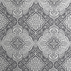 Arthouse Luxe Medallion Black & Silver Wallpaper 10.05m x 53cm