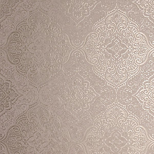 Arthouse Luxe Medallion Rose Gold Wallpaper 10.05m x 53cm