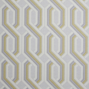 Arthouse Intertwine Geo Ochre & Grey Wallpaper 10.05m x 53cm
